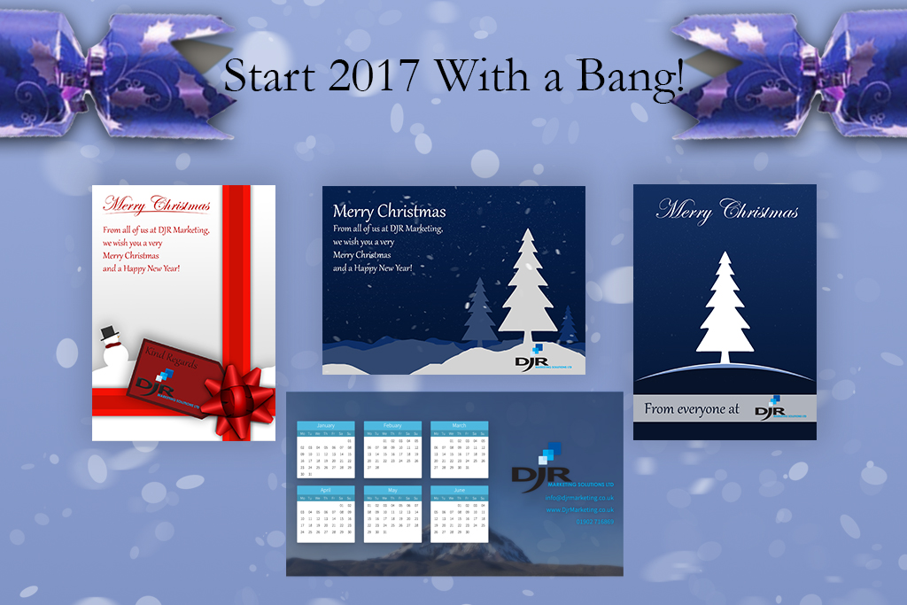 Start 2017 With a Bang With DJR Marketing!